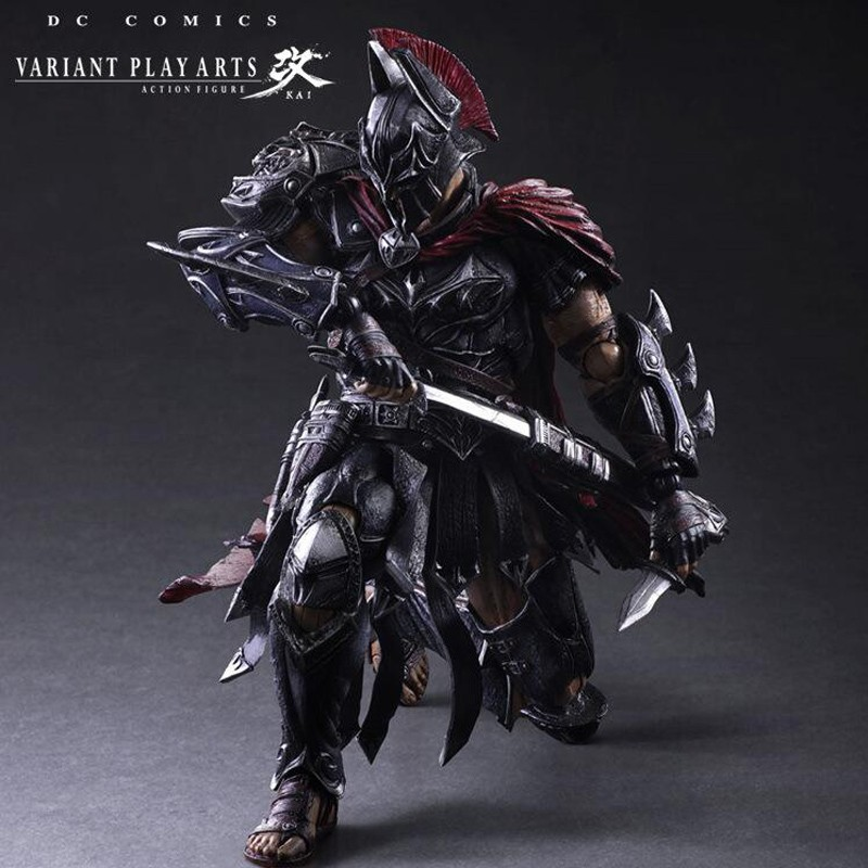 anime Batman Play Arts Kai 1/6 scale painted figure Variant variable Ver. Timeless Spartan PVC Action Figures Model Toys T5778 shfiguarts batman injustice ver pvc action figure collectible model toy 16cm kt1840
