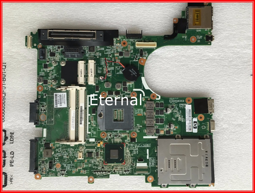ФОТО 648322-001 For hp elitebook 8560P laptop motherboard DDR3 100% tested working