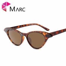 MARC UV400 WOMEN 2018 NEW MEN sunglasses Hight quality Black fashion Gradient Pink Cat eye Plastic