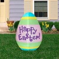 2017 наружное освещенное пасхальное украшение Надувное пасхальное яйцо для рекламы/вечерние/события