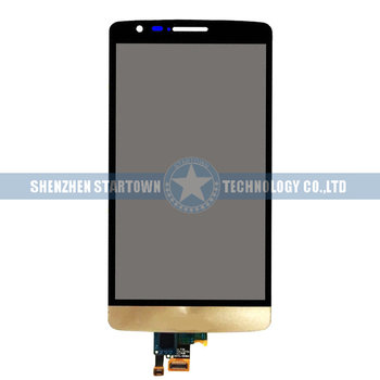 Lg G3 New   New Gold Replacement Part For LG G3 Mini Beat D722 D724 D725 D728 Touch Screen Digitizer LCD Display Panel Assembly With Tools