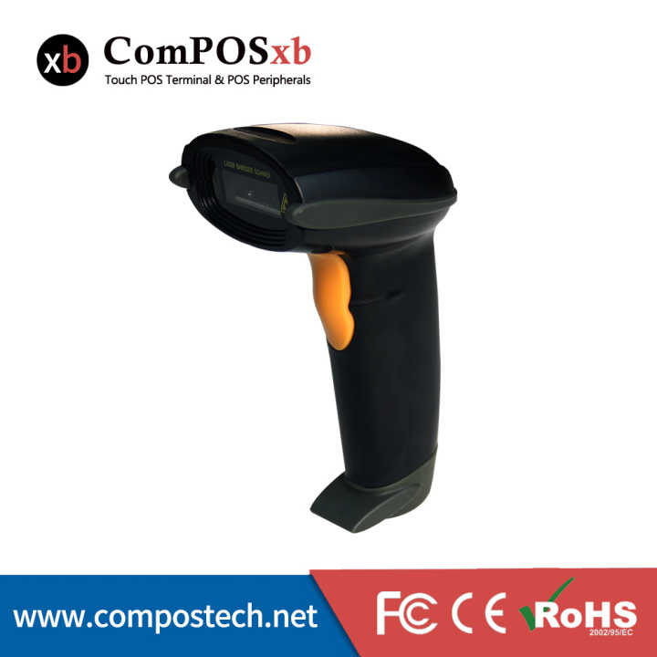 Free shipping high quality 1D scan wireless barcode scanner waterproof pos system for retail shop