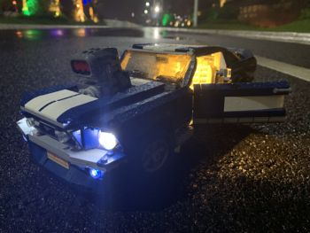 Led Light Set for Ford Mustang 1694 Creator Expert Compatible with 10265 21047 technic MOC lepining Building Blocks Toys Gift image