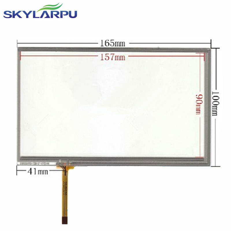skylarpu 7.0 inch 165mm*100mm 4 wire Resistance Touch for AT070TN90 V.1 Touch screen digitizer panel replacement Free shipping 8 inch 8 wire resistance handwritten touch screen amt98466 184 141 free shipping