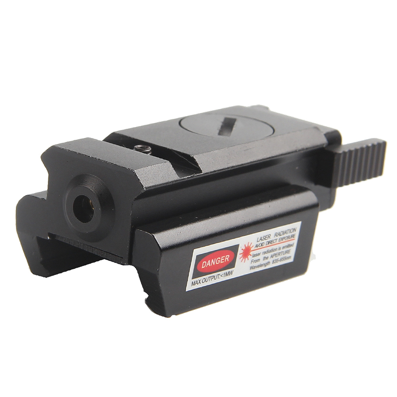 Tactical Red Glock Laser Sight Scope with 20mm Picatinny Weaver Rail Mount For Pistol Glock 17 19 20 21 22 23 30 31 32 3-0005-0
