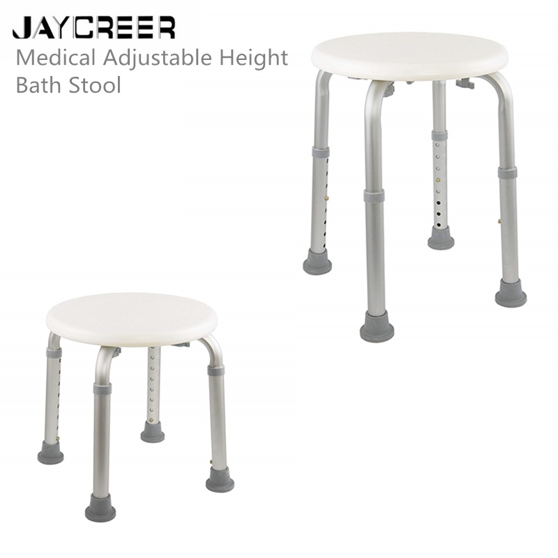 Cool Us 10 18 Jaycreer Drive Medical Adjustable Height Bath Stool White In Bathing Aids From Beauty Health On Aliexpress Onthecornerstone Fun Painted Chair Ideas Images Onthecornerstoneorg