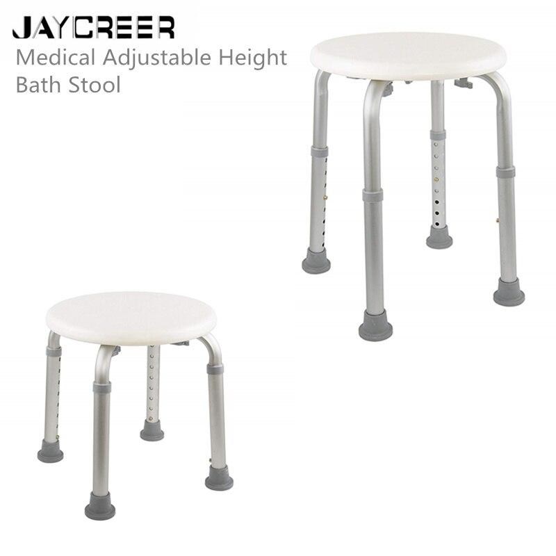 Schönheit & Gesundheit Beliebte Marke Jaycreer Drive Medical Einstellbare Höhe Bad Hocker Badehilfen Weiß 100% Hochwertige Materialien