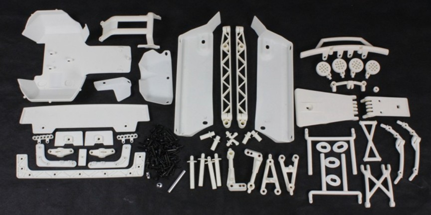 High-strength nylon assembly kit for 1/5 scale HPI Rovan Baja 5T/5SC king motor truck 85142