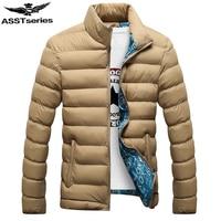 Winter Jacket Men 2015 New Men S Cotton Blend Coats Zipper Mens Jacket Casual Thick Outwear