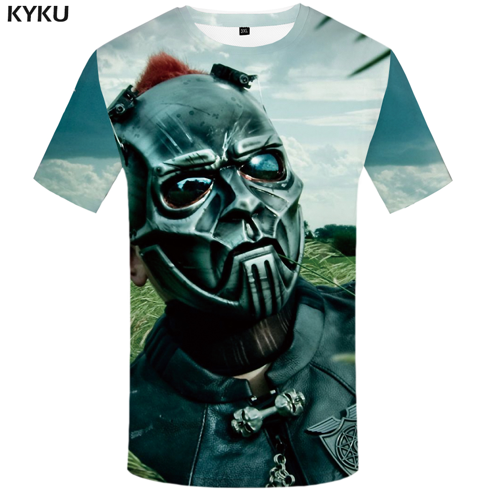 kyku slipknot t shirt men green sky tshirt funny t shirts. Black Bedroom Furniture Sets. Home Design Ideas