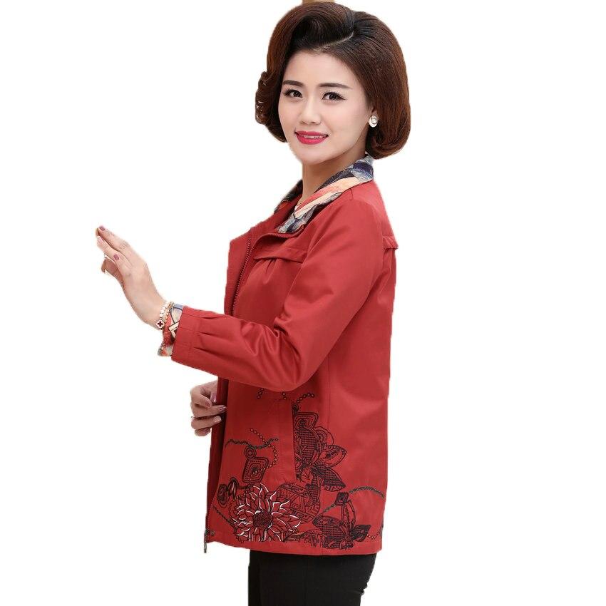 WAEOLSA Spring Woman Casual Jackets Orange Short Coat Middles