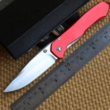 Ben Wild boar 2016 Lochsa bearing folding knife D2 blade aluminum handle camping hunting outdoor Knives Pocket EDC tools