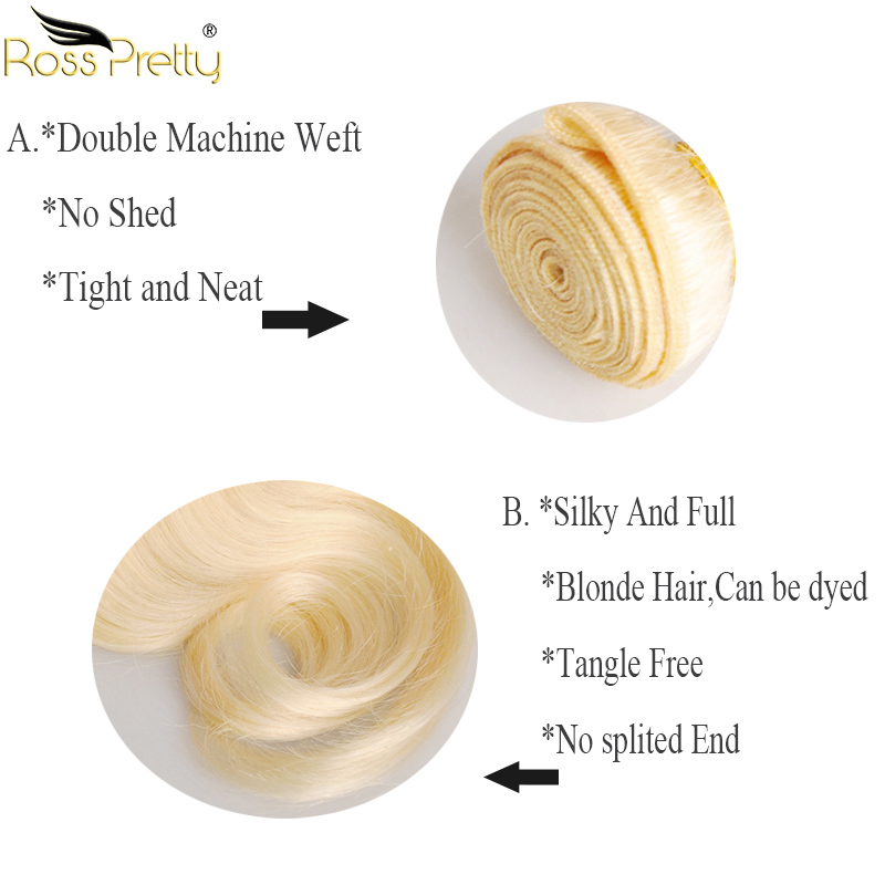 613 ross pretty body wave hair bundle details