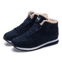 Men Boots Quality Men Winter Boots Snow Boots Warm Casual Men Shoes Plus Boot