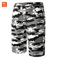 New Shorts Men Summer Fashion Camouflage/ Star/Flag Print  Cotton Slim Bermuda Masculina Beach Shorts Trousers