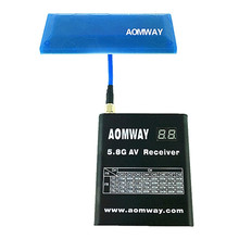 Aomway FPV 5.8G 13db High Gain Antenna Signal Booster Diamond Directional Antenna SMA RP-SMA FOR RC Receiver Drone Transmitter