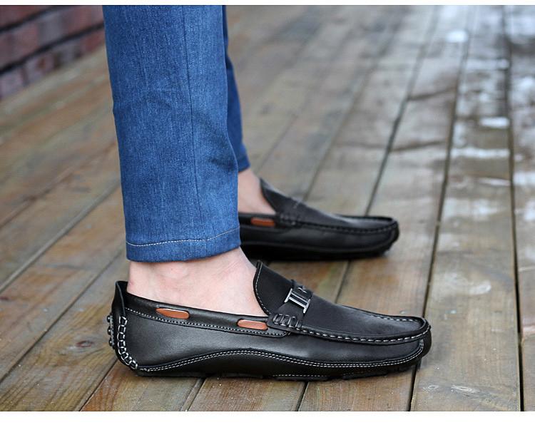 HN 1128 (13) Men`s Casual Loafers Shoe