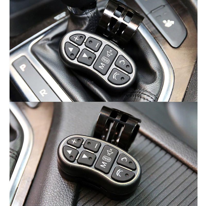 Universal Car Wireless Steering Wheel Button Remote Control for Car Stereo DVD GPS M8617