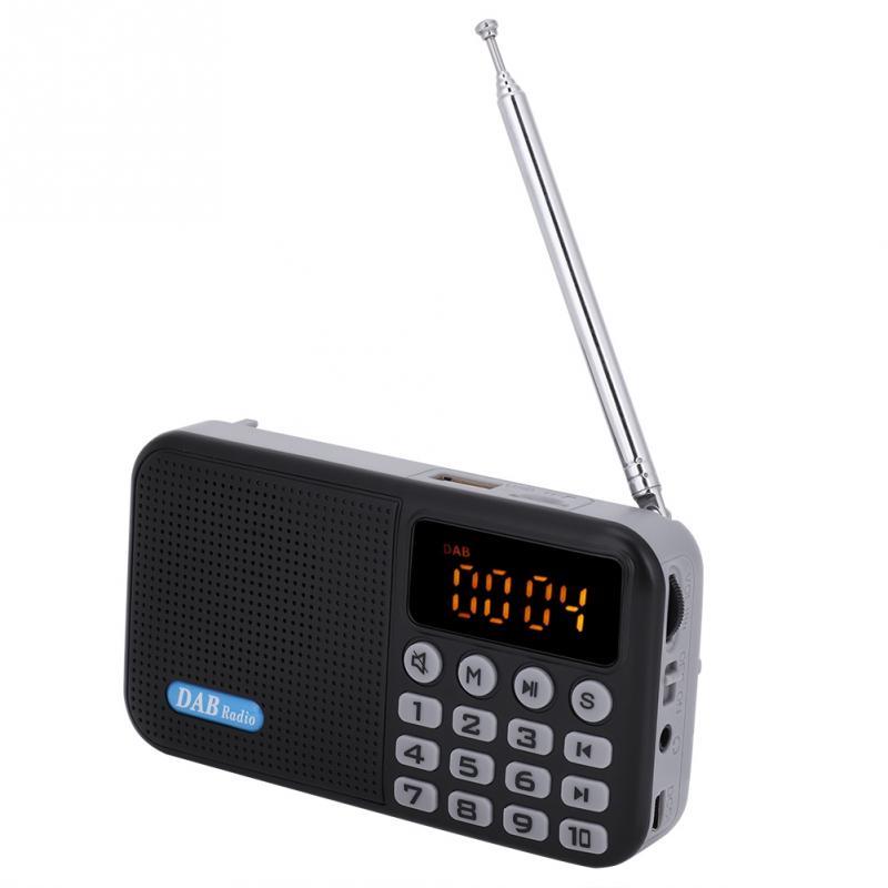 Unterhaltungselektronik Digital Radio Dab Fm Radio Bluetooth Empfänger Protable Tasche Stereo Radio Lautsprecher Bereitstellung Von Annehmlichkeiten FüR Die Menschen; Das Leben FüR Die BevöLkerung Einfacher Machen Tragbares Audio & Video Vbestlife Dab