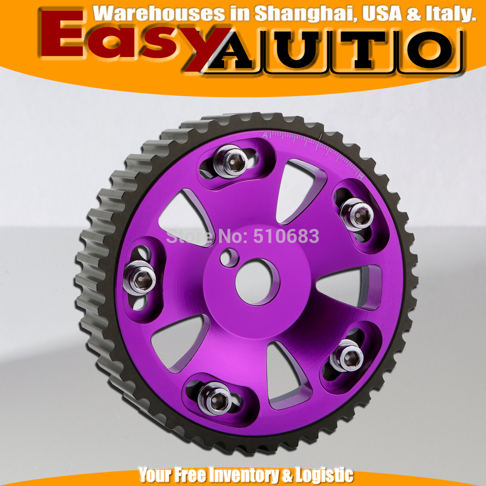 CAM GEAR FOR Cel*ca 2.0L 3SGTE 3S-GTE 2pcs/pair purple color