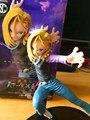 Dragon Ball Рисунок Супер Саян 2 Рис Android 18 Лазури DXF SCultures Большой Dragon Ball Z Действие Figuras