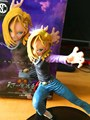 Figura Dragon Ball Super Saiyan Figura 2 Android NO 18 Lazuli DXF Esculturas Grande Dragon Ball Z Figuras de Acción