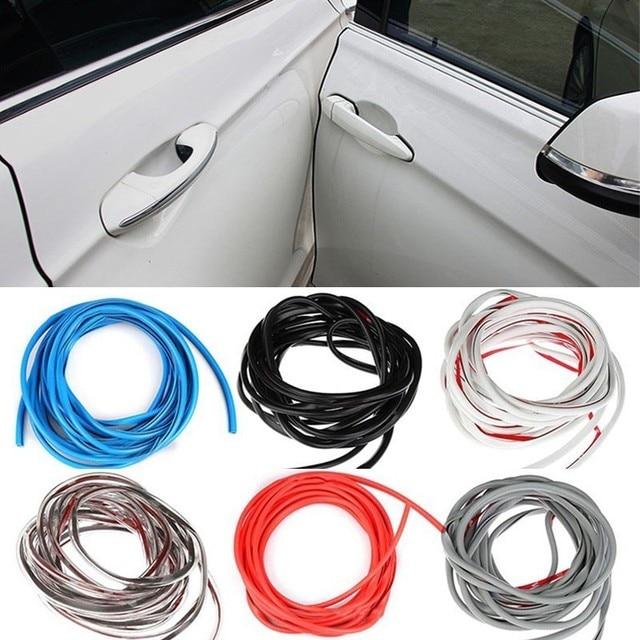 5 M/pak Universele Auto Deur Edge Guards Trim Styling Moulding Protection Strip Kras Protector Voor Auto Voertuig