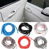 5M/Pack Universal Car Door Edge Guards Trim Styling Moulding Protection strip Scratch Protector For Car Vehicle