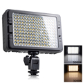 Tolifo 160 unids led bi-color led luz de vídeo dual temperatura de color 3200 k 5500 k led fotografía dslr cámara de fotos luz p0018593