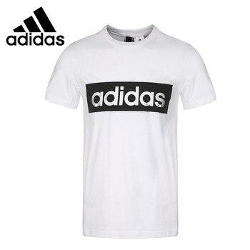 Oryginalny nowy nabytek Adidas GFX T LNR FLOC męskie koszulki z krótkim rękawem odzież sportowa