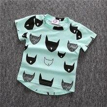 T-shirts for Boys Batman Clothes Cotton Spring Summer Girls T Shirt New Short Sleeve Baby Children Clothing