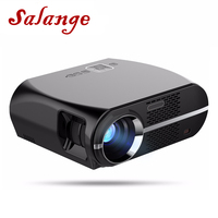 Salange GP100 GP100UP Video Projector Smart Android 3200 Lumens WIFI Bluetooth Home Theater Projector 1080p HD Movie Game Beamer