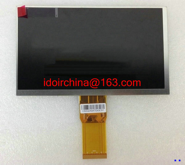 New LCD Display Matrix For 7 inch BQ-7000 bq 7000 3G Tablet 1024*600 50p LCD Screen Panel Lens Frame replacement Free Shipping