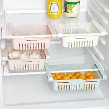 kitchen storage rack organizer accessories fridge Pull Type Household shelf box
