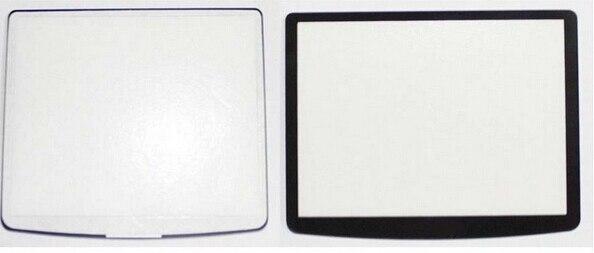 Nuevas pantalla externa LCD de cristal de ventana de visualización para Nikon DSLR D90 con cinta adhesiva