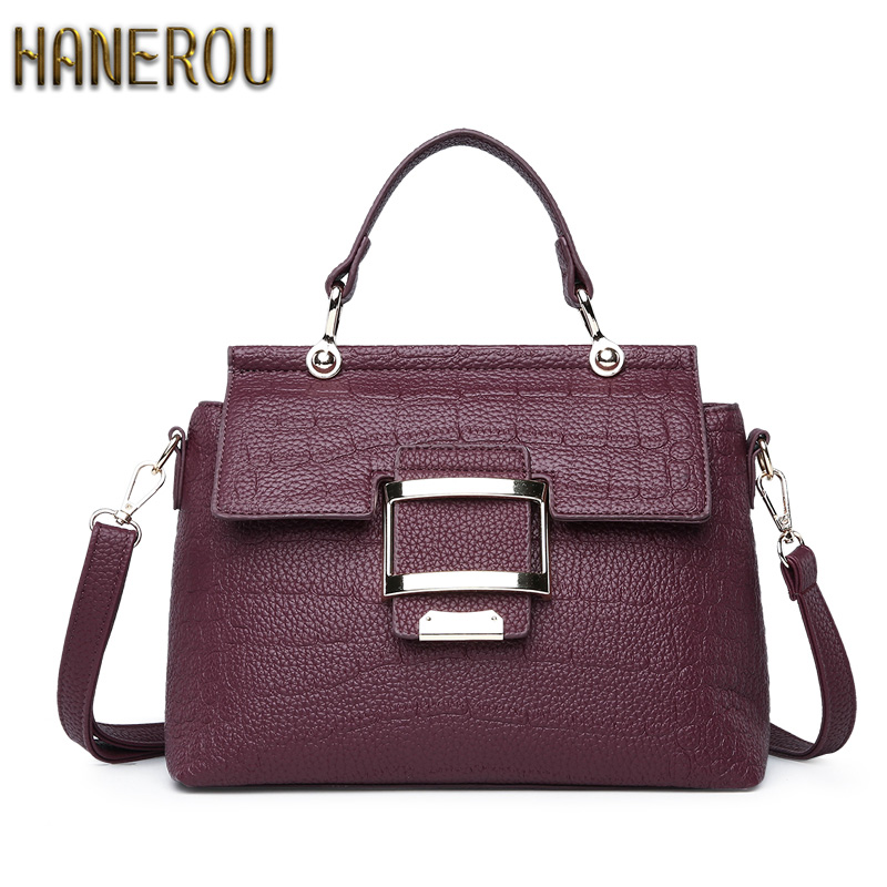 New Bags Handbag PU Leather Tote Women Bag Luxury Fashion Ladies Handbags 2018 Bolso Mujer High Quality Shoulder Bag Sac A Main fashion luxury handbags women leather composite bags designer crossbody bags ladies tote ba women shoulder bag sac a maing for