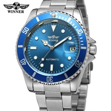 T-WINNER Men's New Arrival 2017 Men's Vintage Automatic Selfwind Stainless Steel Bracelet Collection Watch with Dots WRG8066M4
