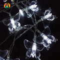 2017 Wedding Party Decoration 30LED 3M RGB Colorful Butterfly LED Holiday Lights AA Battery Operated Novelty Decor. String Light