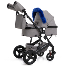 2019 Baby Stroller 2 in 1 Stroller Bidirectional Buggy Lightweight Pram Quality Shock Absorber Baby Trolley super lightweight stroller can fold out in 2 positions in the set gift quality is beautiful