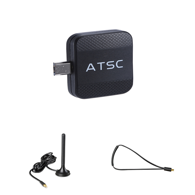 Micro USB ATSC TV Tuner Receiver Digital TV Stick for Android Phone Pad Watch ATSC Live TV For USA/Canada/Mexico/South Korea