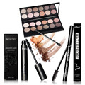 Women makeup set  Value Pack Makeup Set Gift 12 Color Eyeshadow + Mascara + Eyeliner Tool Kit For Eyes Makeup Comestic