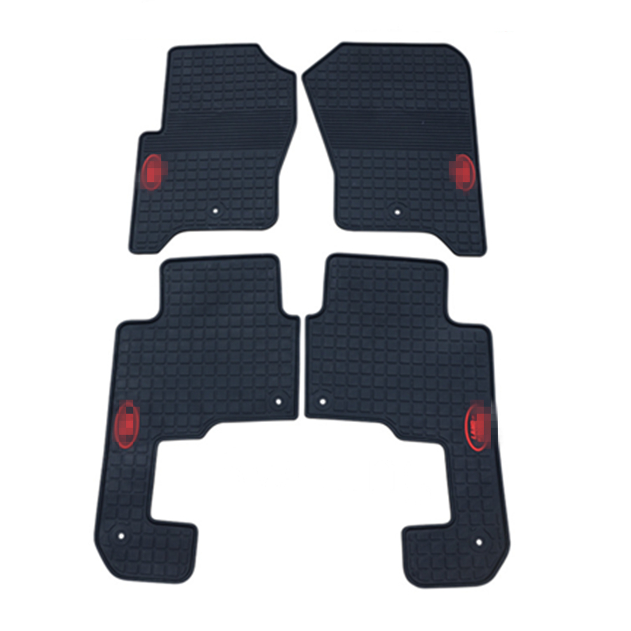 For Land Rover Discovery 3 High Quality Waterproof Anti Skip Latex Durable Carpets Special Rubber Car Floor Mats