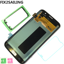 New LCD Display 100% Tested Working Touch Screen Assembly For Samsung Galaxy S7 Edge G935F G935A G935FD G935P