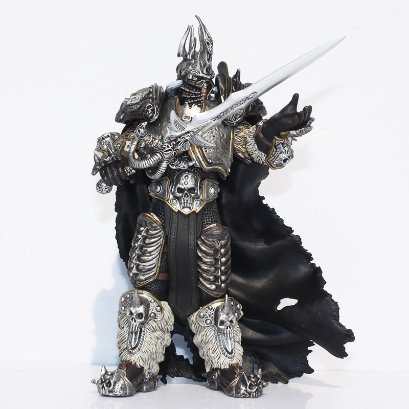 Free Shipping Game Arthas Fall of The Lich King Arthas Menethil Collection Action Figure Model Toy 7 wrath of the lich king collectors edition eu киев