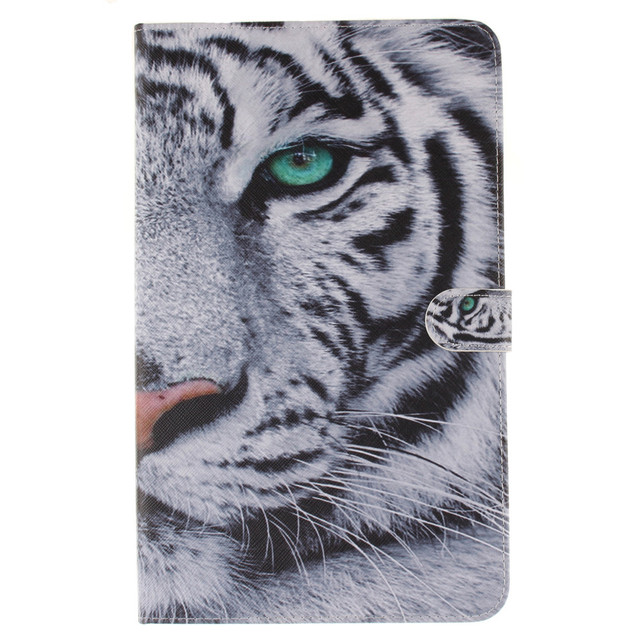 T580 Flip Cover For Samsung Galaxy Tab A 10.1 2016 T585 T580 SM-T580 T580N funda cases Smart Cover shell skin with Card Holder