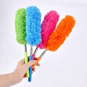Image 2 - Weiche Mikrofaser Reinigung Duster Pinsel Staub Reiniger können nicht verlieren haar Statische Anti Abstauben Pinsel Haushalt Reinigung Werkzeuge