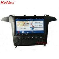 KiriNavi 9 сенсорный экран Android 6,0 Автомобильный стерео для Ford S Max радио мультимедиа gps навигация wifi Fit Авто AC руководство AC