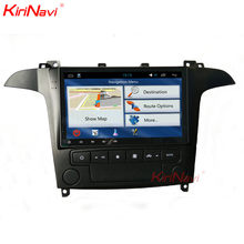 "KiriNavi 9"" Touch Screen Android 6.0 Car Stereo For Ford S-Max Radio Multimedia GPS Navigation WIFI Fit Auto AC Manual AC(China)"