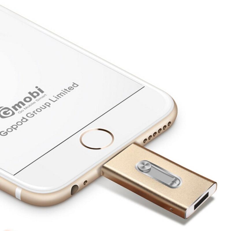 Для iPhone 8,7, 6 Plus 5 ipad Metal Pen привод - Внешнее хранилище - Фотография 6