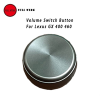 Original Car Styling Volume Knob Audio Button for Lexus GX 400 460 Suitable for 2010.05 2013.08